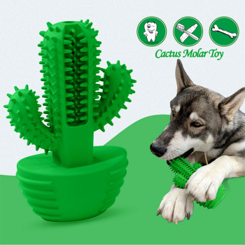 New Cactus Dog Toothbrush 1
