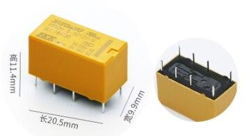 5 pcs DTDP Relay 12 Volt Coil PCB HRS Relay HRS2H-S-DC12V 8 PIN New 5 sets dj7052 6 3 21 car relay holder 5 pin 5 way automotive relay socket