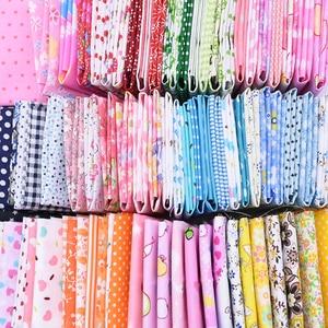 25*25cm Flower Printed 100% Cotton Fabrics DIY Assorted Pattern Cotton Cloths Handmade Tilda Doll Needlework Crafts Patchwork