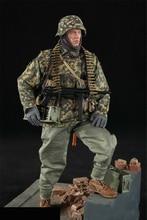 лучшая цена Full set Toy D80125 1/6th WWII German Panzer Division MG34 Gunner solider Figure Collection