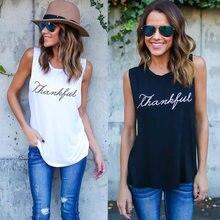 T-shirt pour femmes, Simple, décontracté et amusant, avec impression de merci, en Vogue, cadeau pour jeune fille, livraison directe, offre spéciale, été