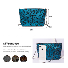LOVEVOOK crossbody bags for women 2019 foldable messenger bag with retro women shoulder bag luxury handbags geometric pattern