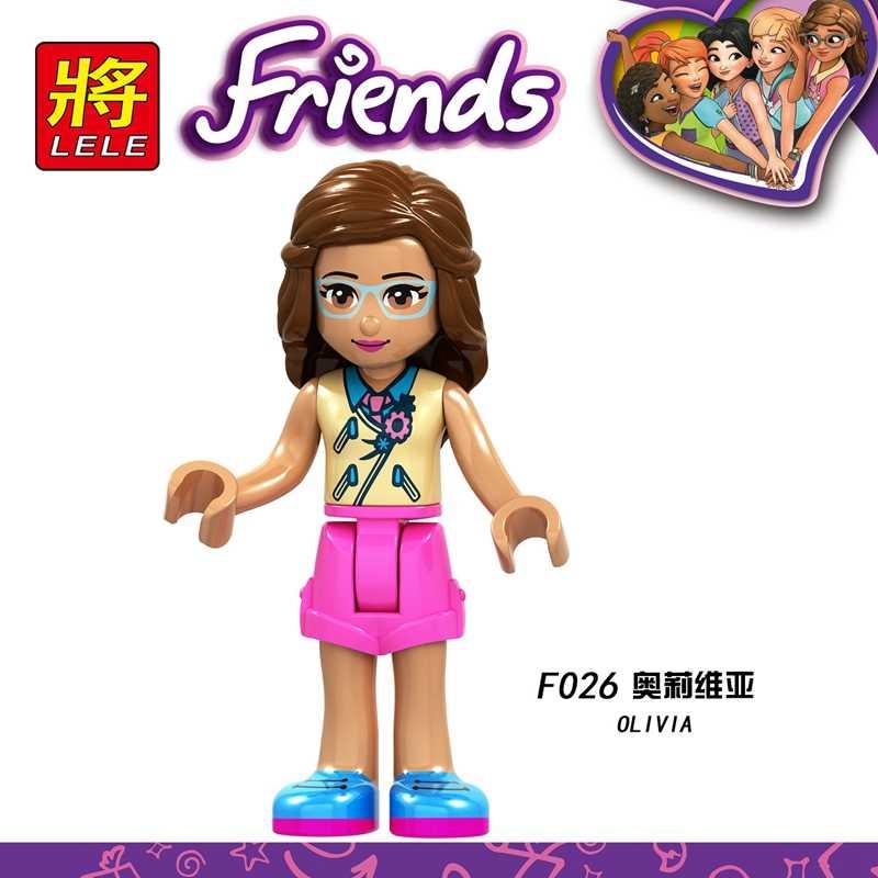 Legoing Friends For Girls Princess Fille Gremlins Figures Dolls Sets Kids Birthday Christmas Gifts Blocks Legoings Baby Figurine