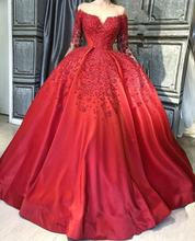 Женское бальное платье красное элегантное для выпускного вечера