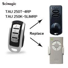 Clone TAU 433.92MHz porte de porte de garage à télécommande pour TAU 250T 4RP TAU 250K transmetteur de code roulant SLIMRP