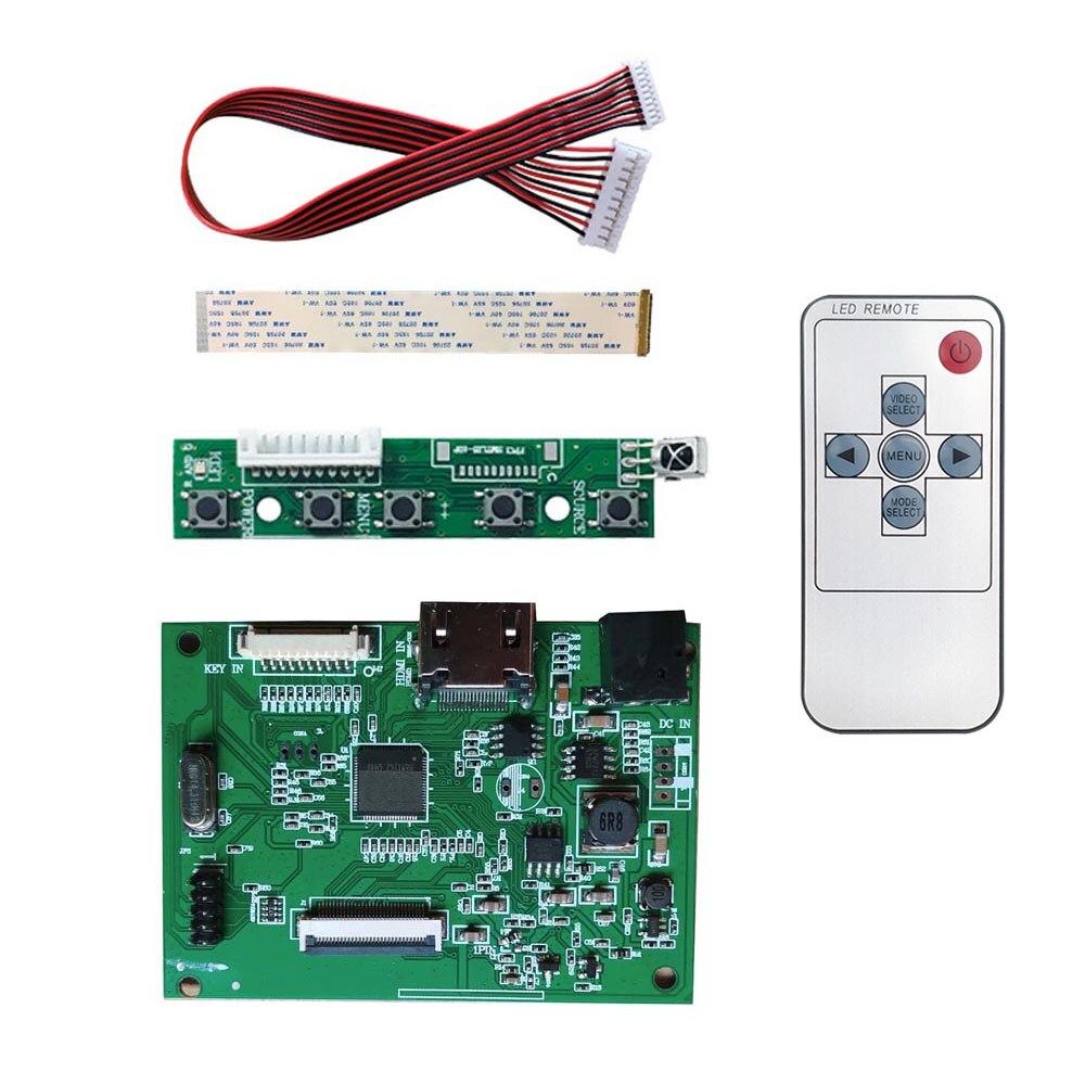 2HDMI Edp 30 Pin Controller Board Module DIY Kit For Raspberry Pi PC Matrix Resolution 1920*1200 1920*1080 1366*768 PCB800807V6