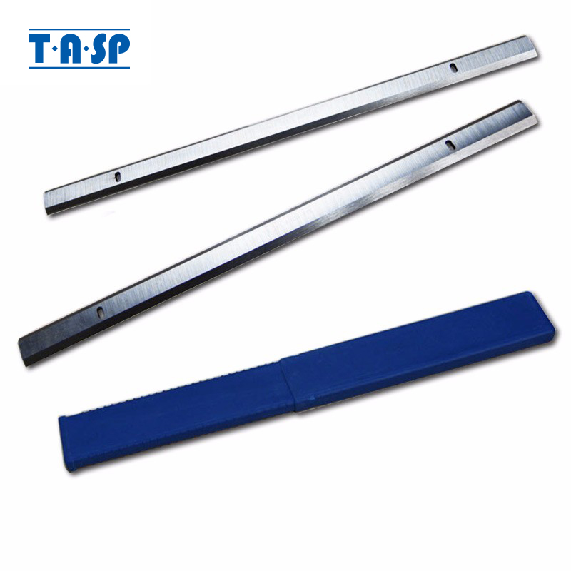 TASP Cuchilla cepilladora de grosor HSS de 319 mm 319x18.2x3.2 mm Cuchilla cepilladora de madera para Ryobi ETP1531AK JET JWP-12 GMC MA1931 CT-340 COBRA
