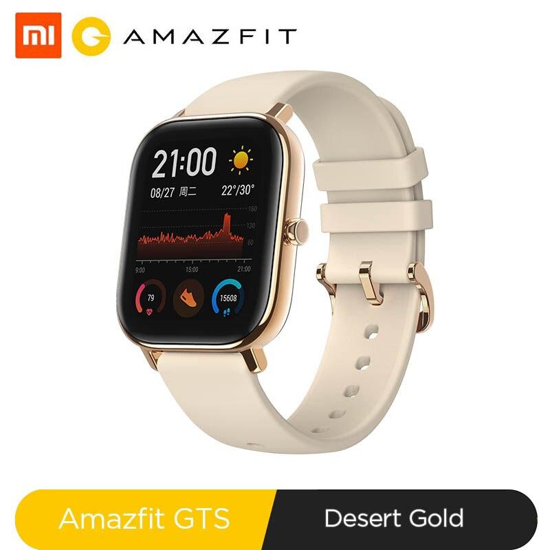 Глобальная версия, новые Смарт часы Amazfit GTS, 5ATM, водонепроницаемые, для плавания, умные часы, 14 дней, батарейка, управление музыкой для телефона Xiaomi IOS|Смарт-часы|   | АлиЭкспресс