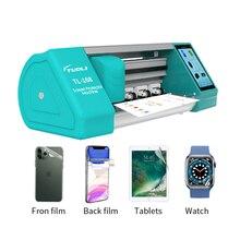 최신 TL 168 자동 필름 절단 기계 전화 LCD 화면 뒤 표지 보호자 전화 시계 Airpods 카메라에 대 한 절단 기계