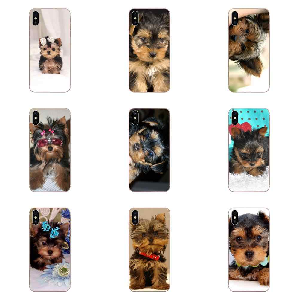 Puppies Yorkie Dog TPU Phone Case Cover For Huawei Honor 4C 5A 5C 5X 6 6A 6X 7 7A 7C 7X 8 8C 8S 9 10 10i 20 20i Lite Pro