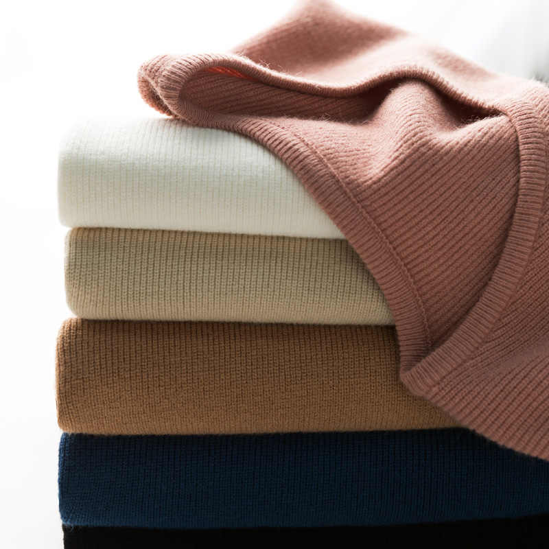 adohon 2019 woman winter 100% Cashmere sweaters and auntmun knitted Pullovers High Quality Warm Female thickening V-neck