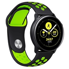 20 22mm band pebble time samsung galaxy watch active 42 46 gear sport s2 s3 zenwatch 1 2 ticwatch e pro c2 neo live strap For Samsung Galaxy Watch Active/Gear Sport /Gear S2 classic 20mm Band Replacement Watch Strap Bracelet for gear s3 huawei GT 2