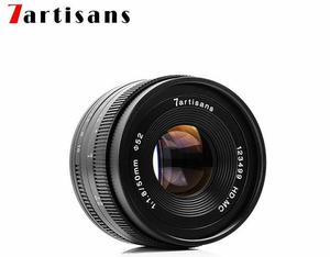 Image 5 - 7artisans 50 мм F1.8 ручной объектив для камеры Canon EOS M A7 A7II A7R Sony E Mount Fuji FX Macro MFT/ M4/3 Mount Бесплатная доставка