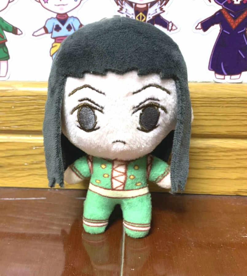 Anime HUNTER × HUNTER HUNTER Killua Zoldyck Kulolo Hisoka Cosplay Alat Peraga Mainan Boneka Mini Boneka Liontin Gantungan Kunci Hadiah