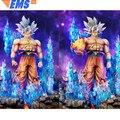 24 Dragon Ball Z Statue Super Saiyan Bust Ultra Instinct Son Goku Full-Length Portrait LED GK Action Model Toy BOX 60CM Z2608