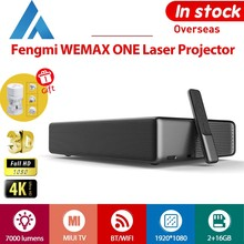XIAOMI Fengmi WEMAX ONE Lazer Projektör 4K Full HD 1080P 3D 7000 lümen 2 + 16GB Android 6.0 ALPD bluetooth WiFi 150 inç 3000: 1 Prejektör MIUI TV by Appotronics 0.233: 1