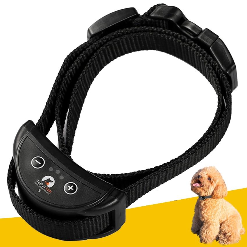 font b Pet b font dog anti bark collar small dog rechargeable automatic bark collar