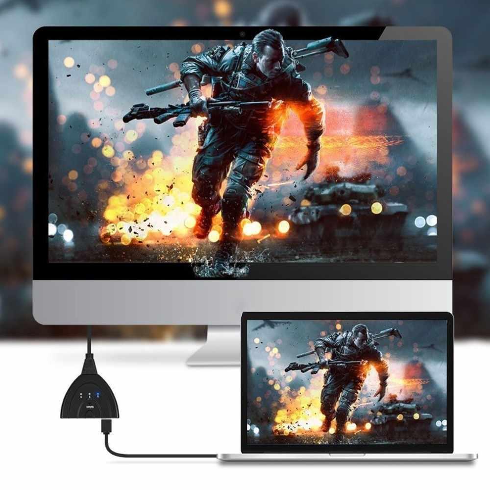 محمول 3 منافذ HDMI في و 1 HDMI خارج كامل HD 1080P التبديل ثلاثية الأبعاد عرض الصور لأجهزة متعددة الوسائط المحمولة 3 HDMI