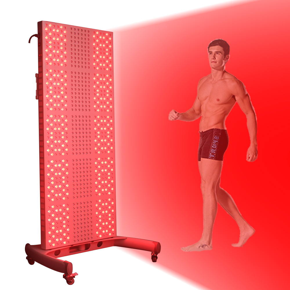 TL1500 660nm 850nm Red Infrared Full Body Led Light Therapy 1200W Red Light Therapy Panel With Timer And FDA For Skin