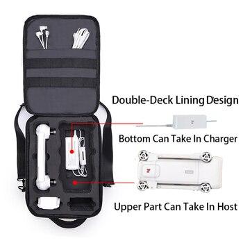 New Upgraded Storage Bag Travel Case Carring Shoulder Bag For Xiaomi FIMI X8 SE Handheld Carrying Case Bag Waterproof 3