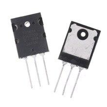 Audio-Amplifier 2SA1943 2SC5200 TO-3PL 2pcs Transistor PNP NPN Black Silicon Hot-Sale