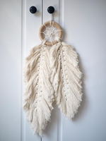 Macrame Home Decoration Accessories Bohemian Feathered Wall Hanging Car Chines Room Decor Dream Catcher Hand-wovening Tapestry