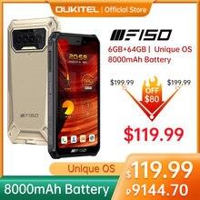 F150 b2021 ip68/69k smartphone 6gb + 64gb 8000mah octa núcleo do telefone móvel nfc 5.86 hd hd hd + mediatek helio g25 13mp telefone da câmera