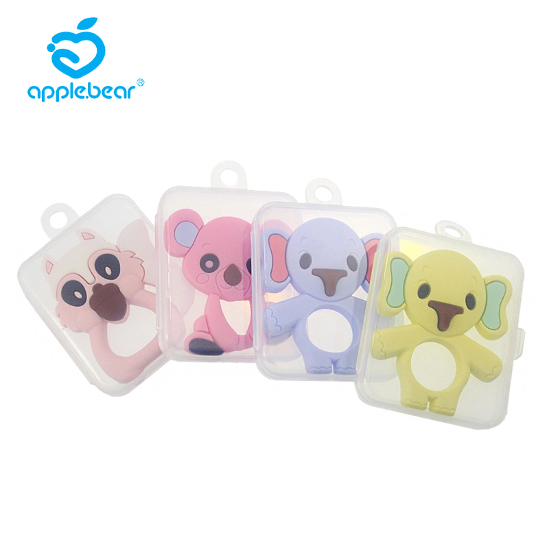Safe Baby Toothpaste Toys Toddler Animal Toothpaste Silicone Chew Teeth Health Care Toothbrush Care Baby Silicone Toothpaste