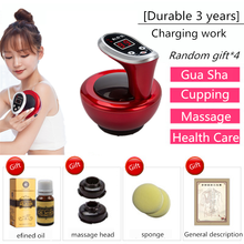 Cupping Machine Gua Sha Physiotherapy Massager Beauty Guasha Tools Fitness Tens Machine Electric Massage Remove Body Moisture