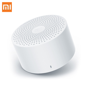 Image 1 - Original Xiaomi MI Xiaoai Wireless Bluetooth Mini Speaker Stereo Portable Version Smart Home With Mic Voice Control Handsfree