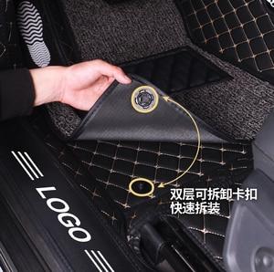 Image 4 - الكلمة حصيرة غطاء كامل السجاد لجيلي أطلس جيلي السيارات emgrand X7 1 مجموعة