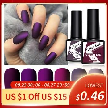 LEMOOC Nail Gel Polish Spring Summer Color Varnishes Glitter Sequins Soak Off Semi Permanant UV LED Nail Art Hybrid Lacquers 1