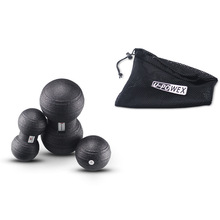 Massage-Ball Fitness Peanut Rehabilitation-Therapy Muscle-Training-Fitball Pilates Round