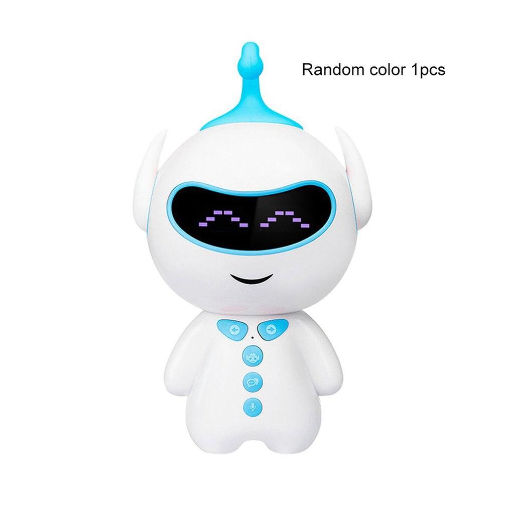 Раннее образование, умный робот, сопутствующий wifi/Bluetooth голосовой обмен, обучающая история, робот-паззл, игрушка - Цвет: Bluetooth Random