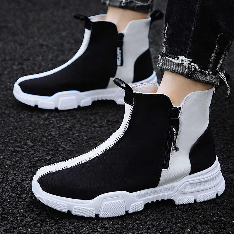 High Top Mens Shoes Sports Shoes Men