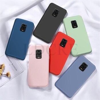 Перейти на Алиэкспресс и купить Для Xiaomi Redmi Note 9S Чехол жидкий резиновый силиконовый противоударный чехол для Redmi 9 Note 9 чехол для Redmi 10X 4G Xiaomi Mi 10 Lite Xiaomi Mi Note 10 Lite