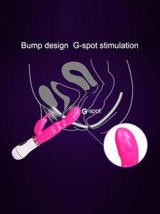 Clitoris Stimulator Double G-Spot Massage 12 Speed Strong Rabbits Vibrator Female Masturbator