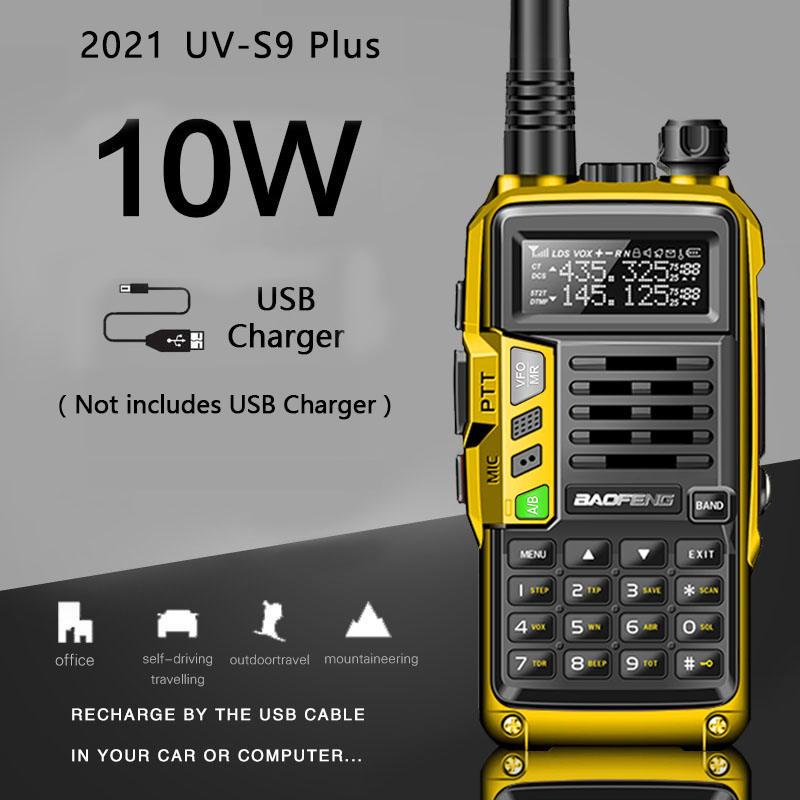CB Radio Transceiver Walkie-Talkie Hunt-City Uv-5r Long-Range-Up Baofeng uv-S9 Plus Portable