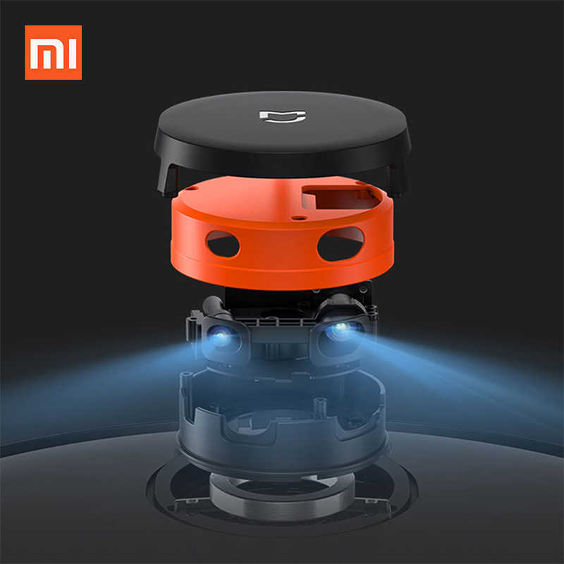Yeni Xiaomi STYJ02YM yeni Mijia Mi Robot vakum paspas P süpürge 2 süpürme Mop Robot LDS wifi Mi ev uygulaması