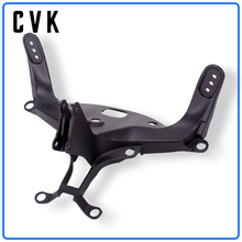 CVK Headlight Bracket Motorcycle Upper Stay Fairing For YAMAHA YZF 1000 R1 2004 2005 2006 YZF-R1 04 05 06 Parts motorcycle parts front nose upper fairing cowling headlight support bracket stay holder for 2004 2005 2006 yamaha yzf r1 rn12