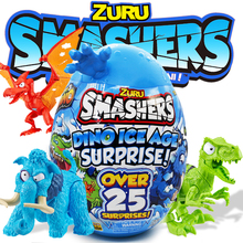 Smashers Dino Ice Age Surprise Egg By Zuru Collectible Anime Figure Toys Birthday Surprise Series Kids Gift