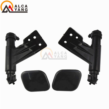 98671-2P500 98672-2P500 Front Headlight Washer Lift Cylinder Spray Nozzle Jet And Cover Cap For KIA Sorento 2013 2014 image
