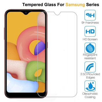 9H Protective Glass For Samsung Galaxy A01 A11 A21 A31 A41 A51 A71 Screen Protector Galaxy A30 A40 A50 A30S A40S A50S Glass Film image