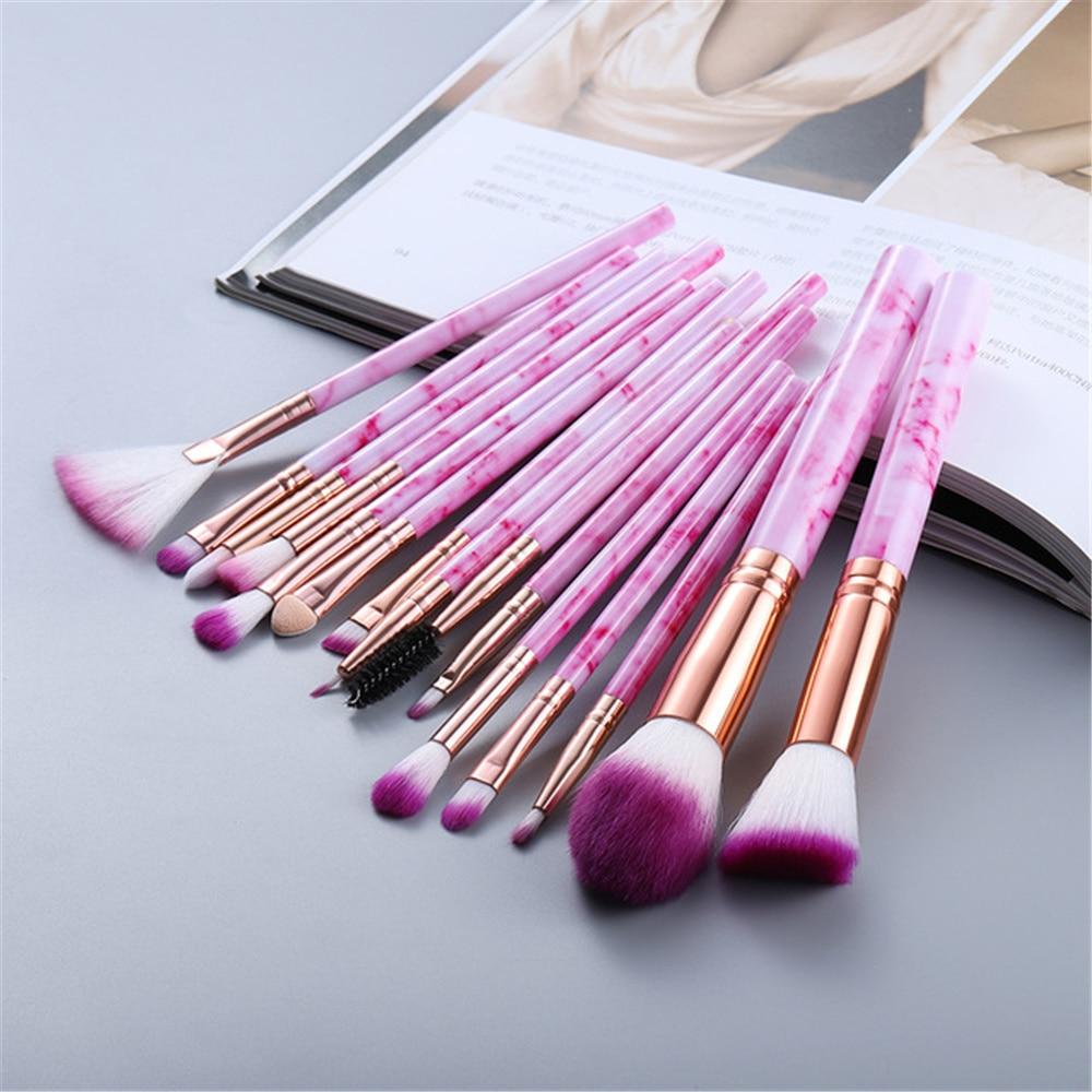 Makeup Brushes Tool Set Cosmetic Powder Eye Shadow Foundation 6