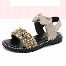 Высококачественные летние модные сандалии для девочек; Детские