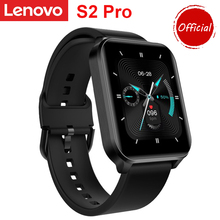 """Lenovo S2 Pro Smart Watch Men Thermometer Heart Rate Monitor Fitness Tracker 1.69"""" IPS Touch Screen IP67 Waterproof Smartwatch"""