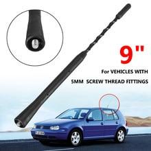 Antenne pour toit de voiture de 9 pouces, accessoire pour véhicule, toit battu, Fuba, pour BMW Z 3 4, Mazda 5 6, Toyota /VW /Jetta /GOLF /POLO