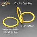 JHCHMX Precitec лазерное уплотнительное кольцо 55 6*48 5*2 9 мм P0595-59845 внешний 54 5*44 7*3 мм для Precitec Procutter части лазерной головки