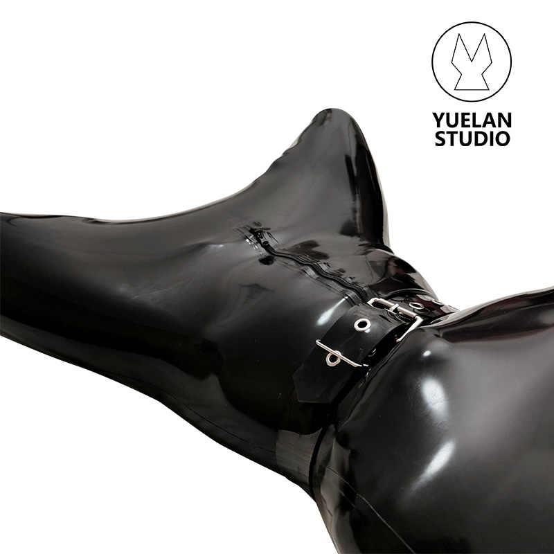 YUELAN latex rubber hog sack restrain restriction bondage