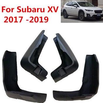 Guardabarros de coche para Subaru 15 2017-2019 protectores de salpicaduras guardabarros accesorios de estilo de coche